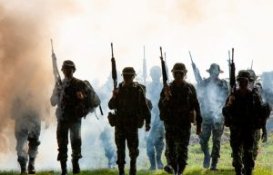 Tropa ejército inglés
